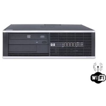 Refurbished HP 6000 Desktop PC with Intel Core 2 Duo Processor, 4GB Memory, 250GB Hard Drive and Windows 10 Home (Monitor Not Included) Wifi Included